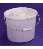 Commode Pail 10 Quart With Lid B5002