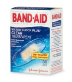 Band-Aid Bandage Water Block Plus Clear 20/Box****OTC DISCONTINUED 2/28/14