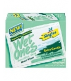 Wet Ones Moist Wipes Singles Sensitive 24 ct