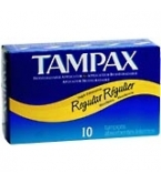 Tampax Flushable Regular - 10