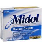 Midol Caplet Menstrual Complete 16 Caplet