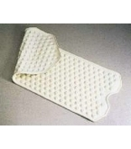 Safety Bath Mat 16 inches Wide X 41 1/4 inches Long Cream Color B3416C