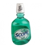 Scope Mouthwash Original Liter Mint 1 Liter