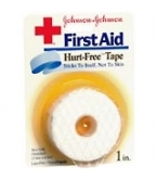 Johnson & Johnson Tape Hurt Free 1 Inch X 2.3 Yd