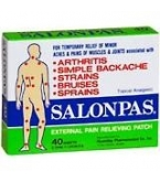 Salonpas Patches Regular 40/Box