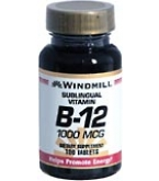 Windmill Vitamin B-12 1000 mcg Tablets Sublingual - 100