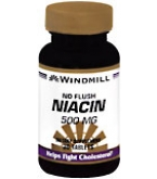 Windmill Niacin 500 mg Tablets No Flush 30ct