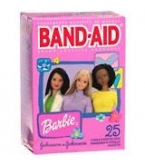Band-Aid Bandage Barbie Assorted 25 ct