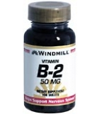Windmill Vitamin B-2 50 mg Tablets 100ct
