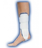 Air Ankle Brace Rigid Stirrup Gel White Regular-Bell Horn