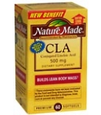Nature Made Conjugated Linoleic Acid 500 mg Softgels 60ct