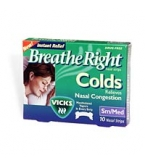 Breathe Right Tan Menthol Small/Medium 10 ct
