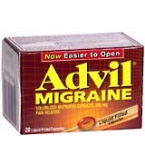 Advil Migraine Liquid-Filled Capsules 20ct