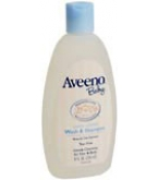 Aveeno Baby Wash And Shampoo 8 oz