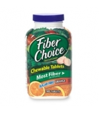 Fiber Choice Chewable Tablets Sugar Free Orange 90ct