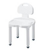 Bath Bench With Back Universal B671-Carex****OTC DISCONTINUED 3/5/14