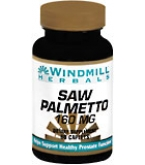 Windmill Herbals Saw Palmetto 160 mg Caplets  60ct