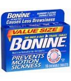 Bonine Tablets 16 ct