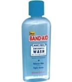 Band Aid Hurt-Free Antiseptic Wash 6oz