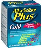 Alka-Seltzer Plus Cold Effervescent Tablets Cherry Burst 20 ct****OTC DISCONTINUED 3/3/14