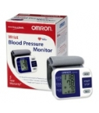 Omron Portable Wrist Blood Pressure Monitor Hem-629