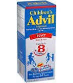 Advil Childrens' Suspension Blue Raspberry Flavored 4oz****OTC DISCONTINUED 3/3/14