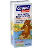 Orajel Toddler Training Toothpaste Fruit Splash 1.5 oz