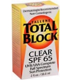 Total Block Sun Protection SPF 65 Clear 2oz