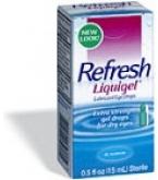 Refresh Liquigel Extra Strength Lubricant Eye Drops 15ml