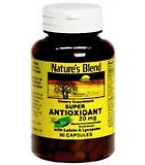 Natures Blend Super Antioxidant 20 mg Capsules 90ct