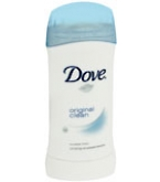 Dove Original Clean Anti-Perspirant/Deodorant Invisible Solid 2.6 oz