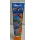 Oral B Toothpaste Pooh Stage 2 Berry Bubble 4.2oz