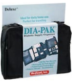 Dia-Pak Diabetic Supply Organizer Deluxe  Each