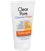 Neutrogena Clear Pore Cleanser/Mask 4.2oz- BACK ORDERED 8-13