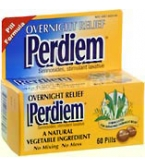 Perdiem Pills Overnight Relief - Pack of 60 Pills - MANUFACTURER BACKORDERED
