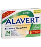 Alavert 24 Hour Orally Disintegrating Tablets Original Flavor 6 ct****OTC DISCONTINUED 3/3/14