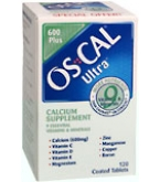 Os-Cal Ultra Tablets 120 ct