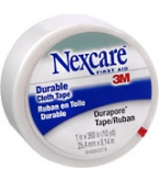 Nexcare Durapore Durable Cloth Tape 1 Inch X 10 Yards  12/box