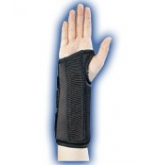 Wrist Brace Composite Black Left Large-Bell Horn