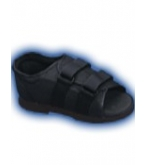 Mens Post Op Shoe Black Medium-Bell Horn