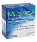 Mucinex Expectorant Extended Release Tablet 600mg 20ct