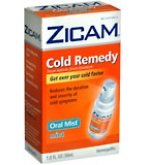 Zicam Cold Remedy Oral Mist Mint 1 ounce