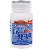 Sundown Q-Sorb CoQ-10 100 mg Softgels 30ct