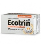 Ecotrin Regular Strength Tablet 125ct*******MFG DISCONTINUED 2/14/14