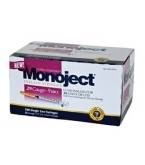 Monoject Ultrafine U-100 Insulin Syr 29 Gauge 3/10cc 1/2 inch Needle 100/Box