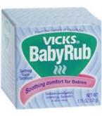 Vicks Babyrub Soothing Vapor Ointment 1.76oz****OTC DISCONTINUED 2/28/14