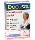 Docusol Mini Enemas 5 ct