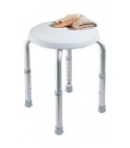 Shower Stool Adjustable Round B600-Carex