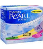 Tampax Pearl Tampons Plastic Multipax Fresh Scent - 36