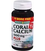 Nature's Bounty Coral Calcium Plus Capsules - 70